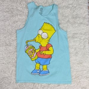 Simpsons Bart Tank Top